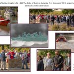 Salcombe RNLI 150th Sculpture unveiled in Kingsbridge