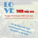 Date Announced!!  LOVE YOUR PARK 2020