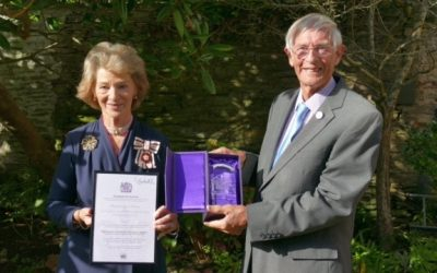 KIB – an MBE and Gold Award all in the same week!